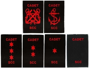 Picture of Cadet Rank Slides