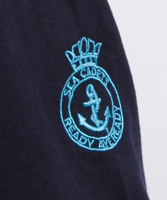 Picture of Instructors Polo Shirt (deep navy) with SC and Instructor Logo and Crest