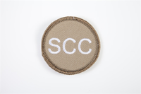 Picture of (Serial 402) RMC White on Stone Badge (Circular)