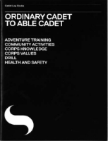 Picture of  Ordinary Cadet to Able Cadet Log Book
