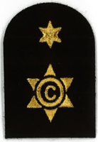 Picture of Cook / Steward (Gold Badges) (Serial 098.1) Cook / Steward 2nd Class (Gold)