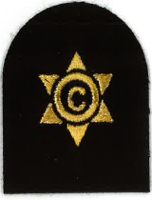 Picture of Cook / Steward (Gold Badges) (Serial 111.1) Cook / Steward 3rd Class (Gold)