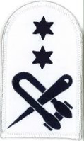 Picture of Seamanship (Blue on White Badges) (Serial 089) Seamanship 1st Class (Blue on White)