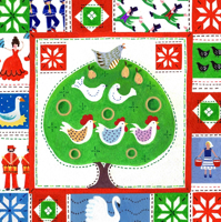 Picture of (Christmas Cards x 10) 12 Days