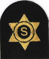 Picture of Catering Stewarding Gold Badges (Serial 212) Catering / Stewarding Basic (Gold)