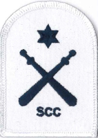 Picture of Physical Training (Blue on White Badges) (Serial 104.2) PT Intermediate (Blue on White)