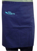 Picture of Apron with Sea Cadets logo Cooking Apron with Sea Cadets logo (waist)