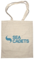 Picture of Natural Cotton Tote Bag with Sea Cadets Logo