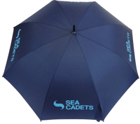 Picture of Umbrella with Sea Cadets Logo Large Standard Umbrella with Sea Cadets Logo