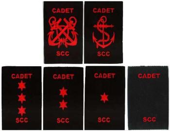 Picture of Cadet Rank Slides