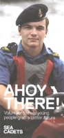 Picture of Sea Cadets Development Workers Leaflets Leaflet - Ahoy There (x 10)