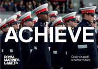 Picture of Sea Cadets Development Workers Leaflets Postcard - Achieve (x10)