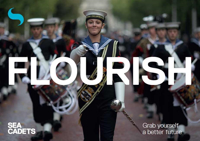 Picture of Sea Cadets Development Workers Leaflets PostCard - Flourish (x10)