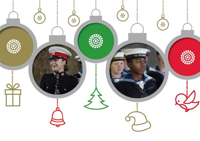 Picture of (Christmas Cards x 5) SC Baubles