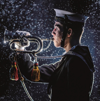 Picture of (Christmas Cards x 5) SC Bugler