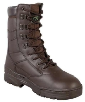 Picture of Highlander Brown Full Leather Patrol Boots (Cadet)